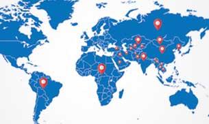 Our Global Presence -Bulat Pharmaceutical