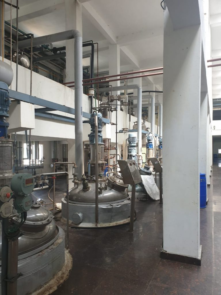 API Manufacturing - R & D Bulat Pharmaceutical